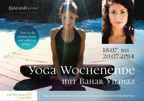 Yoga-Wochenende mit Bahar im Ayurveda-Resort Sonnhof