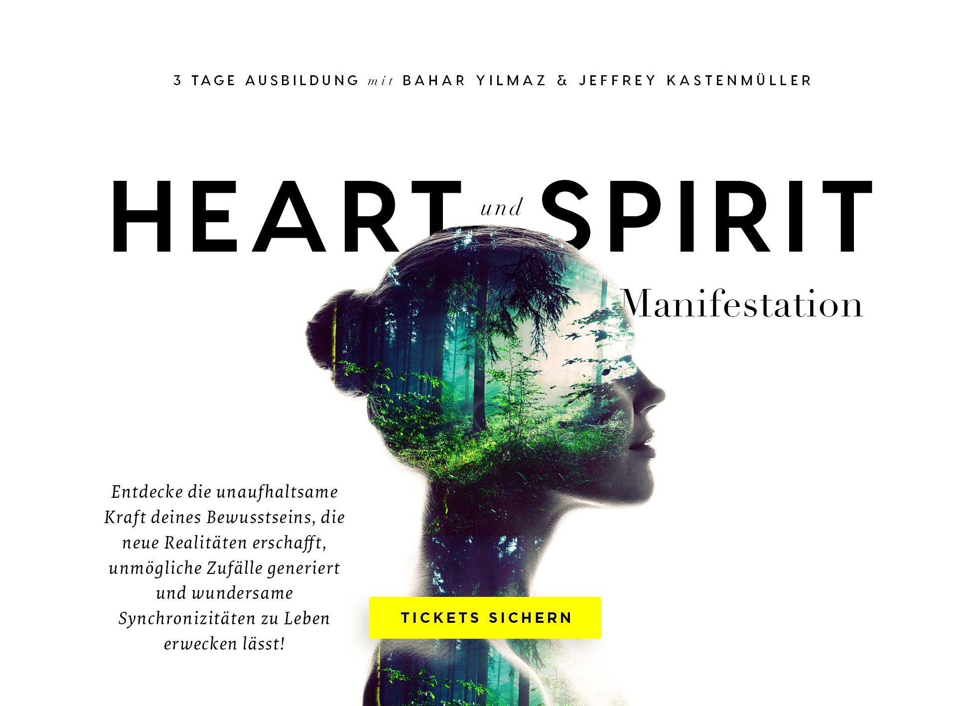 Kurzausbildung Heart & Spirit Manifestation
